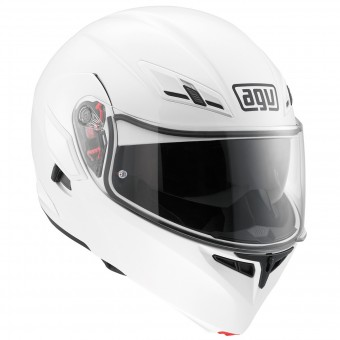 Casque Flip Up AGV Compact ST White