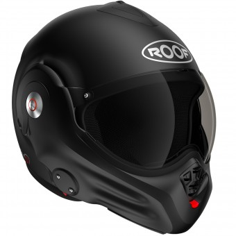 Casque Flip Up Roof Desmo Matt Black 3e Generation