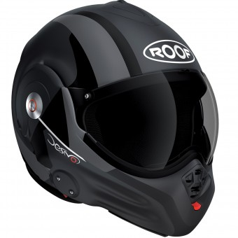Casque Flip Up Roof Desmo Ram Matt Titan Black