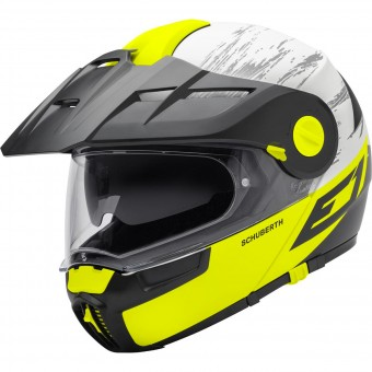 Casque Flip Up Schuberth E1 Crossfire Yellow
