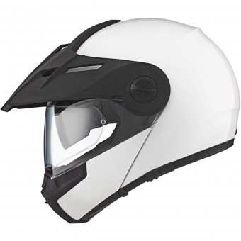 Casque Flip Up Schuberth E1 Glossy White