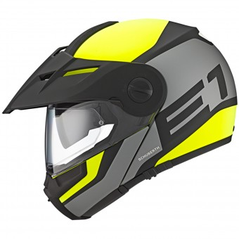 Casque Flip Up Schuberth E1 Guardian Yellow Fluo