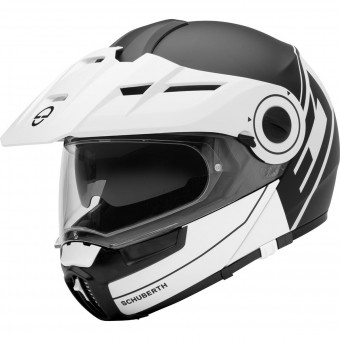 Casque Flip Up Schuberth E1 Radiant White