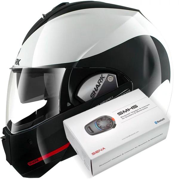 3f8bbf11 Helmet Shark Evoline Serie 3 Hakka WKR at the best price | iCasque.co.uk