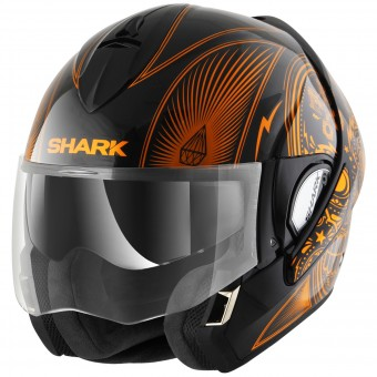 Casque Flip Up Shark Evoline Serie 3 Mezcal Chrome KUO