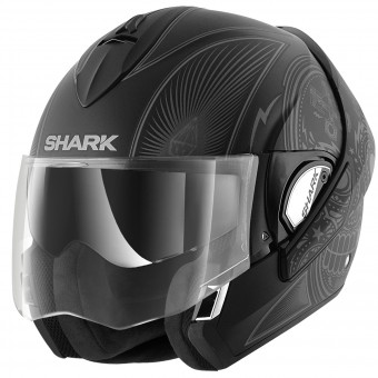 Casque Flip Up Shark Evoline Serie 3 Mezcal Mat KAS