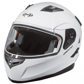 Casque Flip Up Stormer Ground White