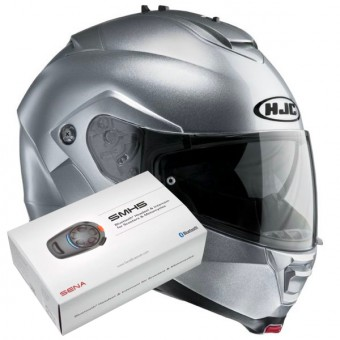 Casque Flip Up HJC IS-MAX II CR Silver