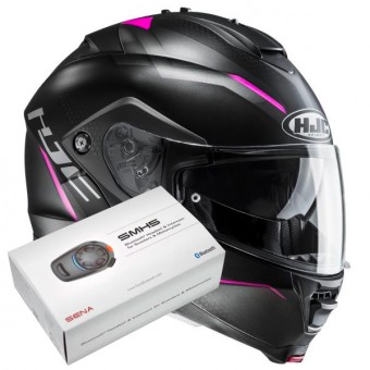 Casque Flip Up HJC IS-MAX II Dova MC8SF