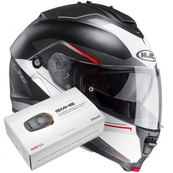 Casque Flip Up HJC IS-MAX II Magma MC1SF