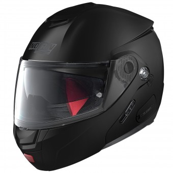 Casque Flip Up Nolan N90 2 Classic N-Com Flat Black 10