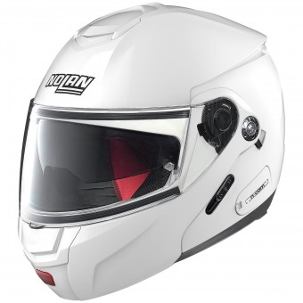 Casque Flip Up Nolan N90 2 Classic N-Com White 5