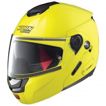 Casque Flip Up Nolan N90 2 Hi-Visibility N-Com Fluo Yellow 22
