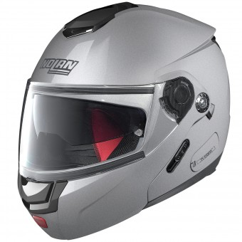 Casque Flip Up Nolan N90 2 Special N-Com Salt Silver 11