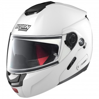 Casque Flip Up Nolan N90 2 Special N-Com White 15