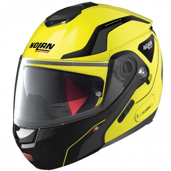 Casque Flip Up Nolan N90 2 Straton N-Com Led Yellow 18