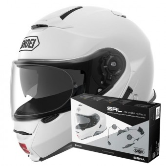 Casque Flip Up Shoei Neotec II White