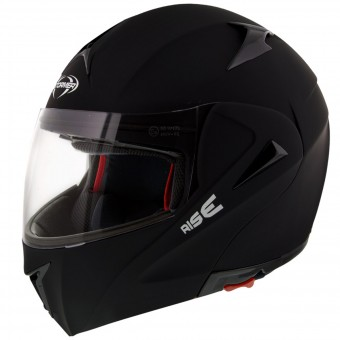 Casque Flip Up Stormer Rise Matt Black