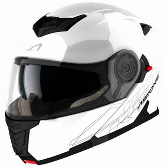 Casque Flip Up Astone RT 1200 White