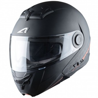 Casque Flip Up Astone RT 800 Matt Black