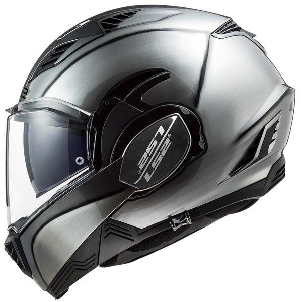 M Gris LS2 Casque moto FF900 VALIANT II JEANS