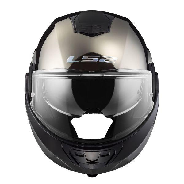 LS34 Unisex-Adult Full Face Helmet Gloss Battleship Gray, X-Large
