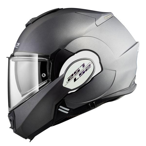 Helmet Ls2 Valiant Solid Matt Titanium Ff399 In Stock Icasquecouk