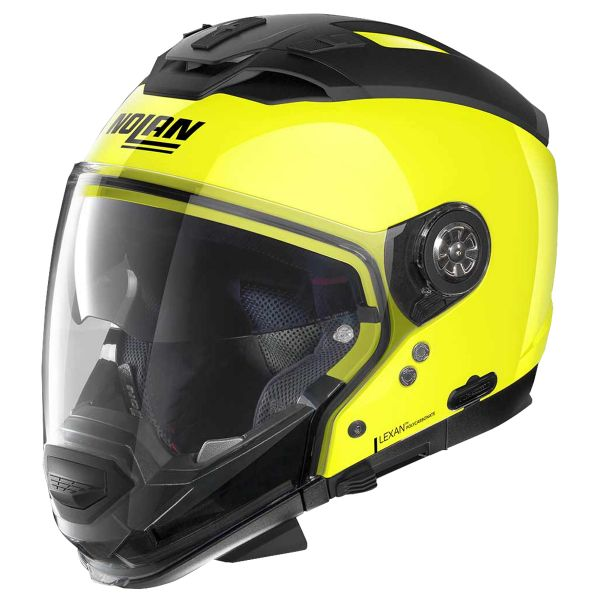 Convertible Nolan N70 2 GT Hi-Visibility N-Com Yellow 22