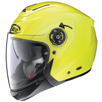 Casque Convertible X-lite X-403 Hi-Visibility N-Com Fluo Yellow 9
