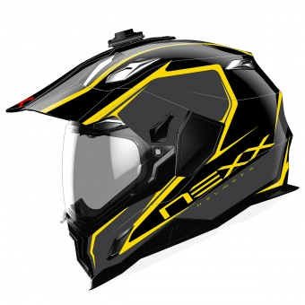 Casque Full Face Nexx X.D1 Voyager Black Yellow