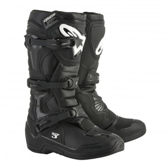 Motocross Boots Alpinestars Tech 3 Black
