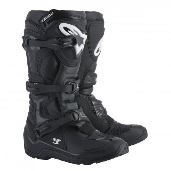 Motocross Boots Alpinestars Tech 3 Enduro Black