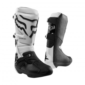 Motocross Boots FOX Comp White