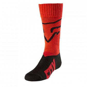 Motocross Shoes FOX Youth MX Kid Red 003