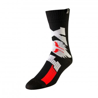 Motocross Shoes FOX Mx Cota Black Kid