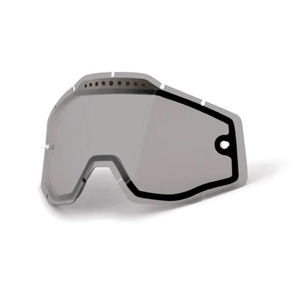 Motocross Goggle Screens 100% Double Visor Ventile Masks Racecraft 2 - Accuri 2 - Strata 2