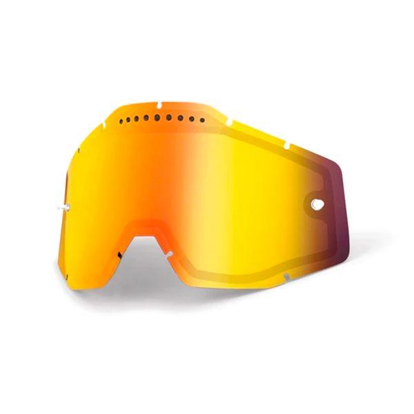 100% Double Visor Ventile Masks Racecraft 2 - Accuri 2 - Strata 2