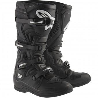 Motocross Boots Alpinestars TECH 5 Black