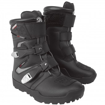 Motocross Boots SHOT ATV Quad Black Shoes