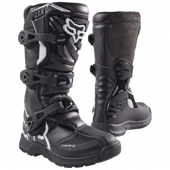 Motocross Boots FOX Comp 3Y Black Child 001