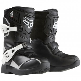 Motocross Boots FOX Comp 5K Black Silver (464)