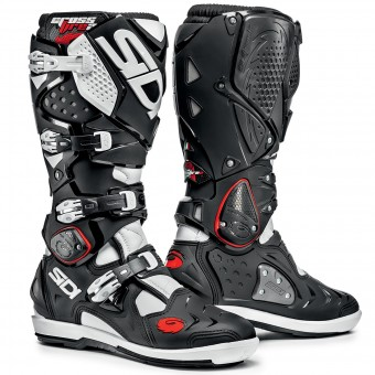 Motocross Boots SIDI Crossfire 2 SRS Black White