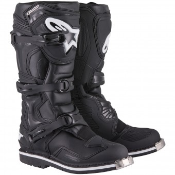 Motocross Boots Alpinestars Tech 1 Black