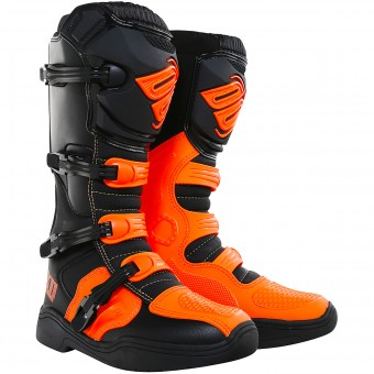 Motocross Boots SHOT X11 Neon Orange