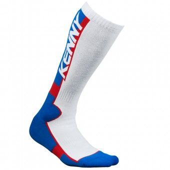 Motocross Shoes Kenny MX Tech Blue White Red