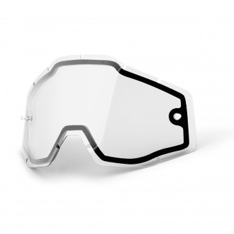Motocross Goggle Screens 100% Visor Enduro Double Visor - Racecraft - Accuri - Strata