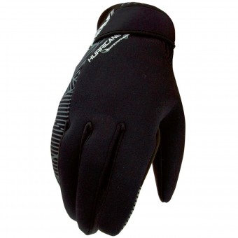 Motocross Gloves SHOT Hurricane Enduro Black