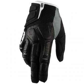 Motocross Gloves 100% Simi Black
