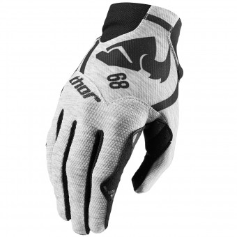 Motocross Gloves Thor Void Plus Gasket Heather