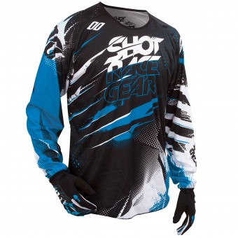 Motocross Jerseys SHOT Devo Capture Blue Kid